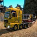 开货车走山路游戏
