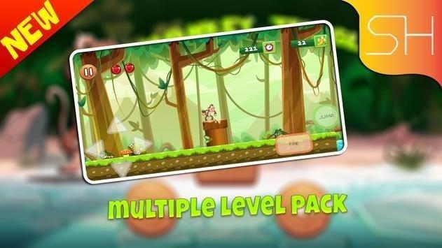 猴子森林探险游戏安卓最新版图3: