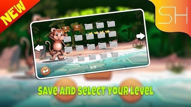 猴子森林探险游戏安卓最新版图2: