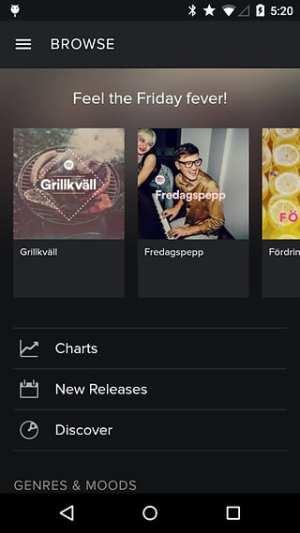 Spotify app图2
