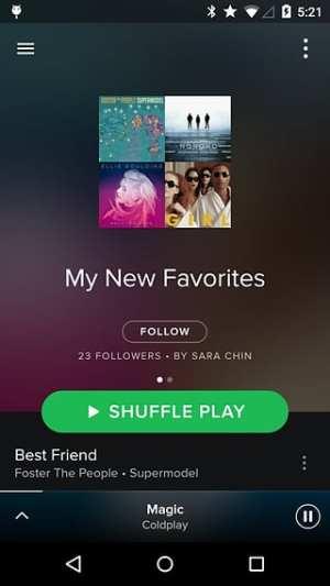 Spotify app图3