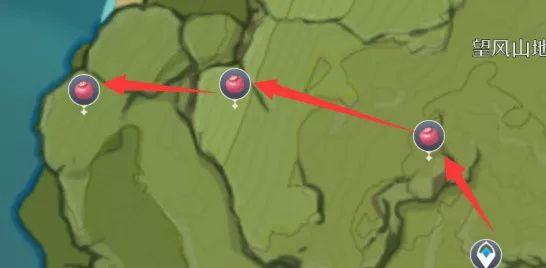 原神落落莓分布图一览:落落莓采集地点大全[多图]