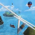 滑翔机跳跃游戏