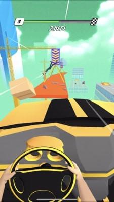 房顶飞车小游戏官方版图片1