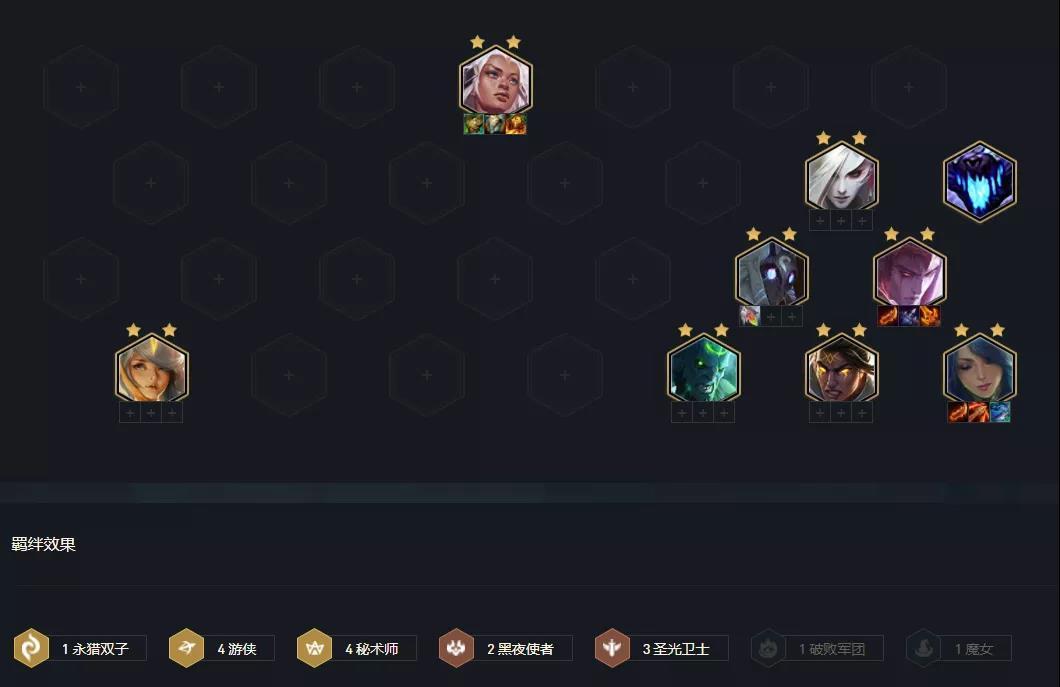 云顶游戏秘光游侠最强阵容搭配攻略:11.13游侠秘境圣光守护阵容推荐【多图】