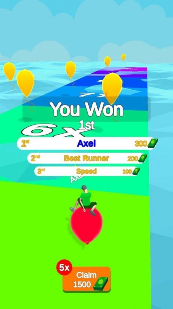 抖音气球跳跃竞技小游戏官方版