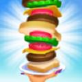 疯狂叠汉堡游戏