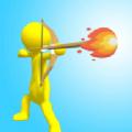 弓箭手射箭跑酷游戏