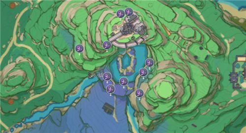 原神鸣草位置大全:全部鸣草分布图一览[多图]图片2