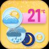 可爱天气小部件app