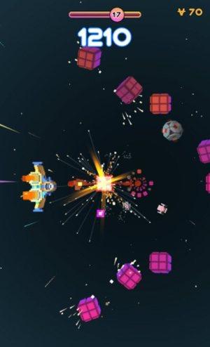像素宇宙飞船游戏图2