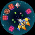 像素宇宙飞船游戏