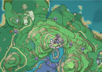 原神鬼兜蟲位置分布圖:鬼兜蟲采集路線圖[多圖]圖片2