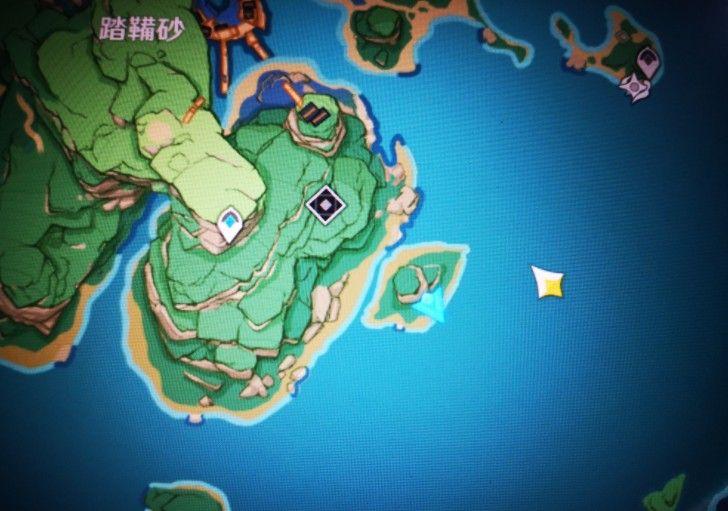 原神踏鞴砂右下角小岛解密攻略:踏鞴砂解密北边岛屿的雷指针机关破解顺序[多图]图片1