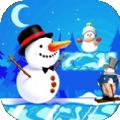 雪人疯狂冒险游戏