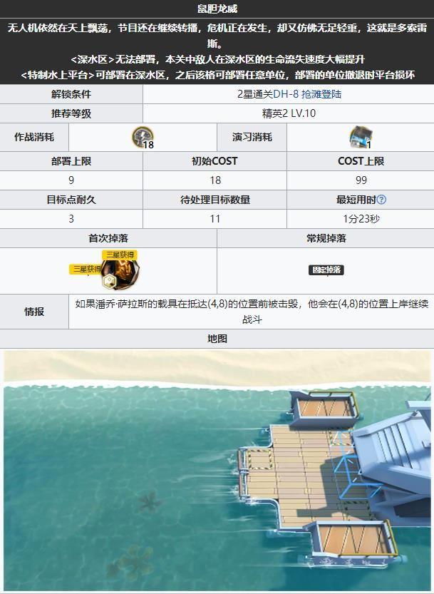 明日方舟dh9低配攻略:DH-9风筝鼠胆龙威通关流程[多图]