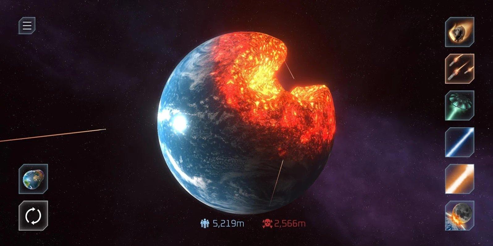 星球毁灭模拟器平面地球下载图2: