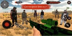 真正的僵尸狩猎游戏图1