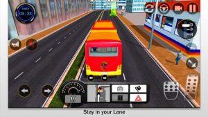城市驾驶巴士2021游戏中文手机版图片1