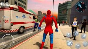 蜘蛛绳英雄邪恶小镇游戏图2