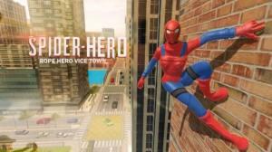 蜘蛛绳英雄邪恶小镇游戏图1