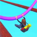 吊杆跑酷游戏