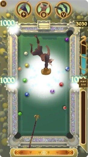 英雄台球游戏图2