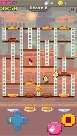 超级汉堡时间游戏图1