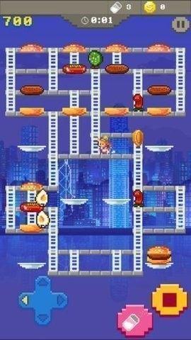 超级汉堡时间游戏图2