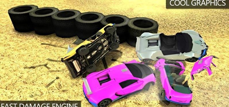 撞车破坏车的游戏合集