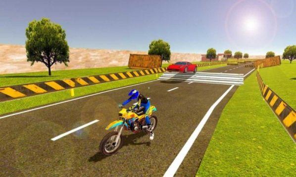 摩托车对决赛车游戏官方版图片1