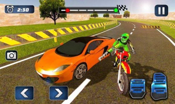 摩托车对决赛车游戏官方版图2: