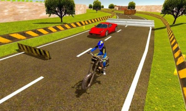 摩托车对决赛车游戏官方版图1: