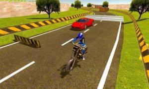 摩托车对决赛车游戏图1