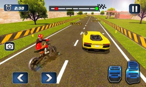 摩托车对决赛车游戏官方版图3: