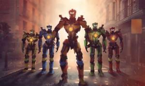 机器人刺激战场游戏图1