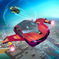 未来派飞行汽车赛车游戏