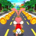 地铁兔子跑酷游戏