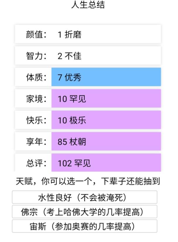 人生重启模拟器官方版下载,人生重启模拟器最新版官方中文版,v1.0