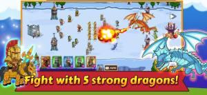 掉落战防御王国战争游戏最新中文版图片1