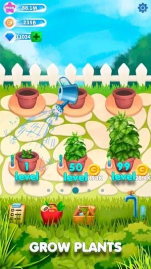 闲置植物花园红包版图1