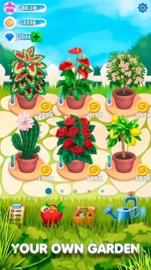 闲置植物花园红包版图2