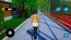 樱花女生生活3D游戏图4