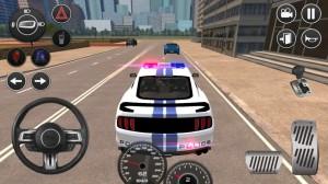 野马警车驾驶游戏中文手机版2021图片1
