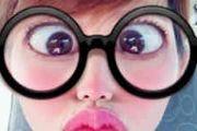 蔡少芬cos金鱼脸:大眼睛香肠嘴 太魔性了![图]