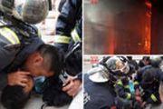 5岁男孩停止呼吸 消防员跪地人工呼吸救活[图]