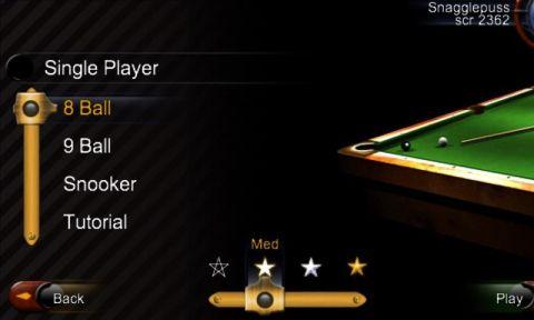 Namco网络桌球3手游安卓版图1: