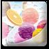 水果冰淇淋盘