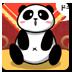 大熊猫吃早点