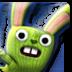 迷彩兔吃萝卜